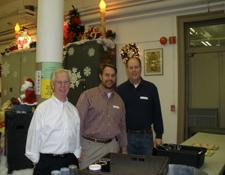 In Photo: Don Horning, Joe Horning and Casey