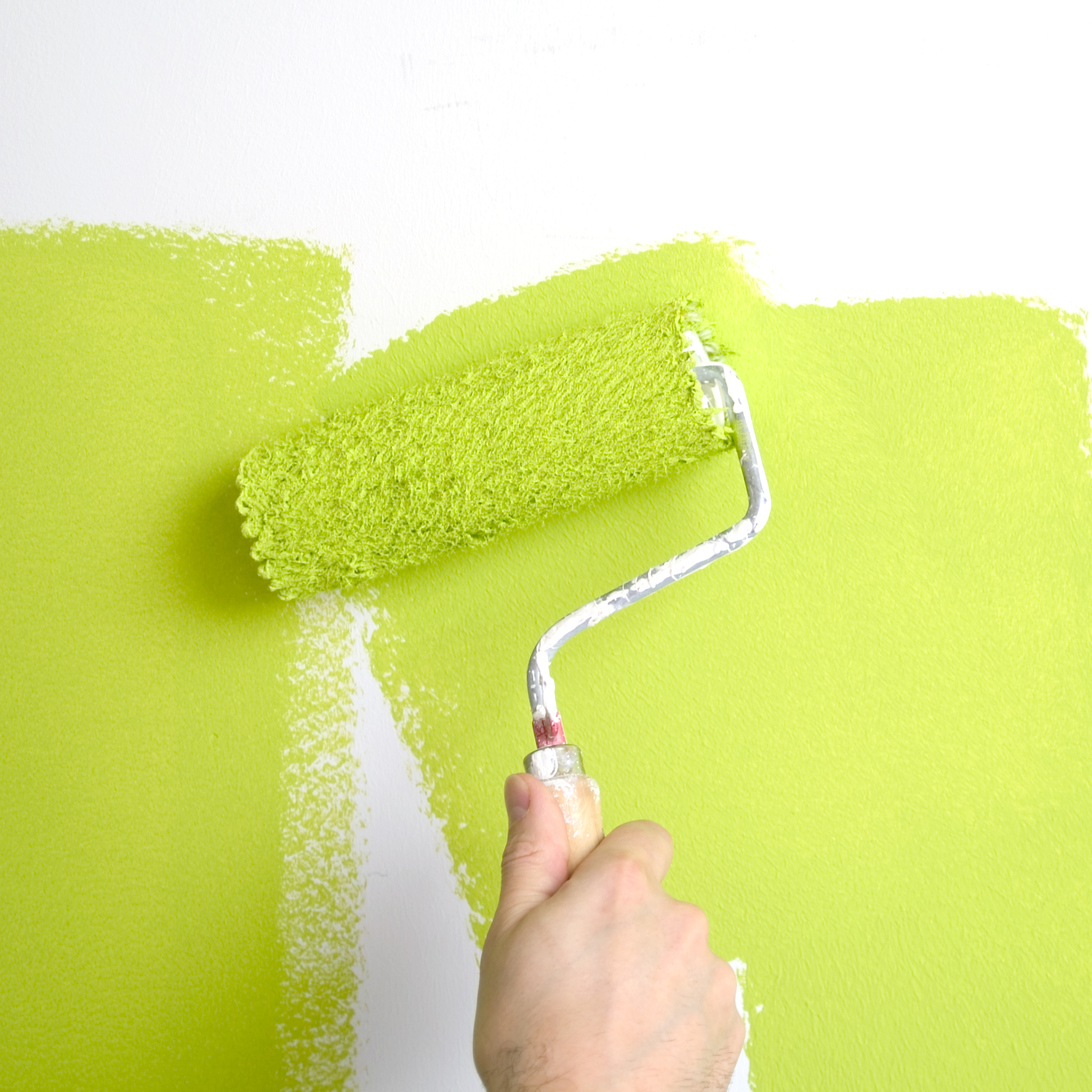 Cutting In A Wall Painting