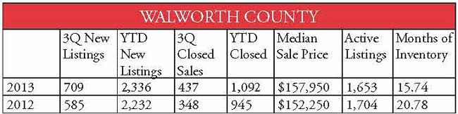 county stats walworth