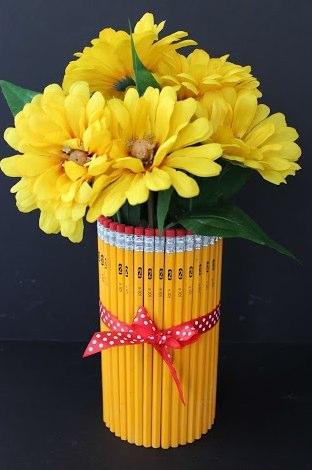 Shorewests Back To School Diy Project Pencil Vase Shorewest