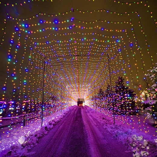 Country Christmas drive-through light display at the Country Springs Hotel in Pewaukee opens Thanksgiving Day.