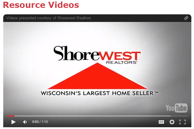 Shorewest Resource Videos