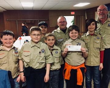 061318 LC Boy Scout Donation