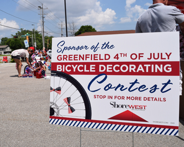 Greenfield parade bike